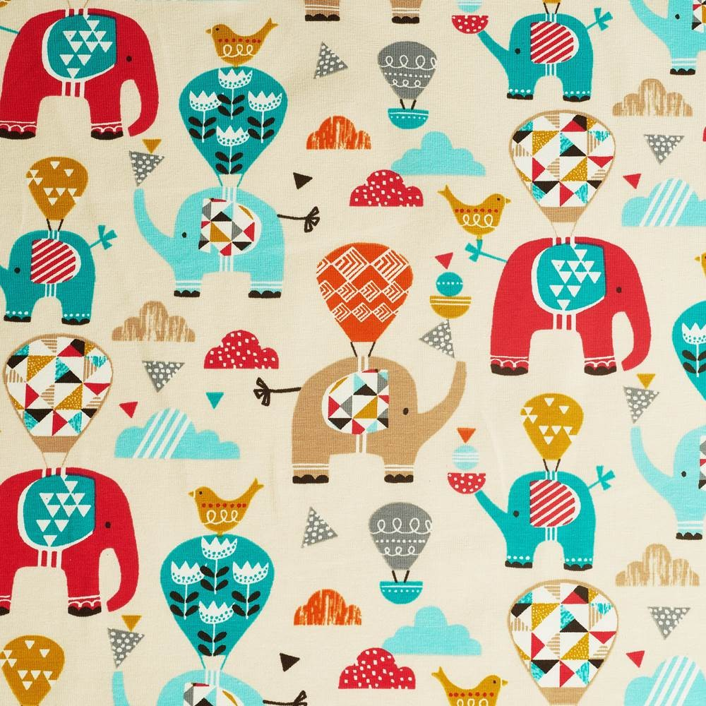 Benjamin cotton jersey fabric for Children s jersey fabric uk