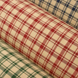 Cottage - woven check - decoration fabric