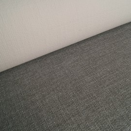 Elli - Elastic upholstery fabric - Light grey melange