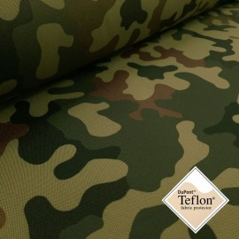 General - Camouflage with Teflon® impregnation & PU coating