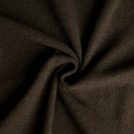 Hinrich Woolen-velours fabric (hunting green)