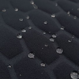 Jovin - water-repellent quilted fabric - navy/black