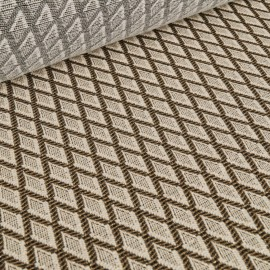 Karo - Brokade Jacquard fabric with metal yarn