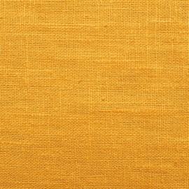 linen nature - ochre yellow