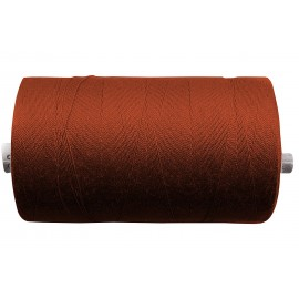 Sewing yarn 100er - dark rust