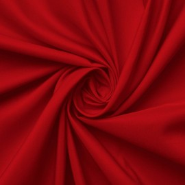 Polyester microfibre - red