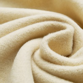 Siegfried wool fabric - wool white