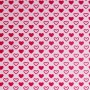 sample approx. 2x4cm - Lia cotton jersey fabric (pink)