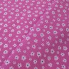 Cotton fabric Fiori Pink